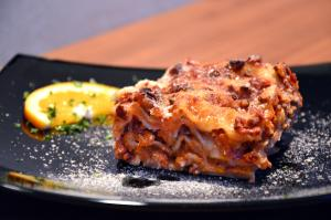 Lasagnetta al ragu' di verdure