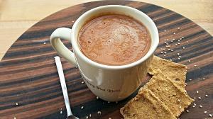Cappuccino crudista