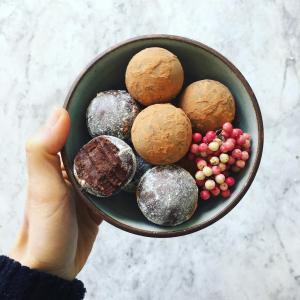 Cioccolatini al pepe rosa