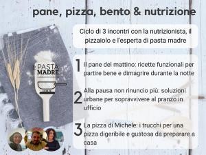 Pane, pizza, lunch box & nutrizione