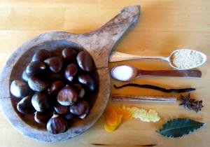 castagne e aromi per un sapore 'all'antica'