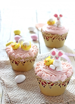 Cupcakes amarene e cioccolato bianco