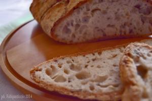 Pane rustico senza glutine senza lattosio senza proteine del latte con lievito madre