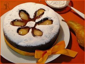 Torta pere e cioccolato gluten free