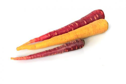 Un arcobaleno di carote per piatti mancini!