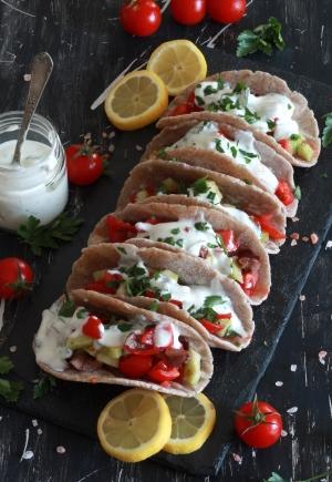 Finti tacos al grano saraceno