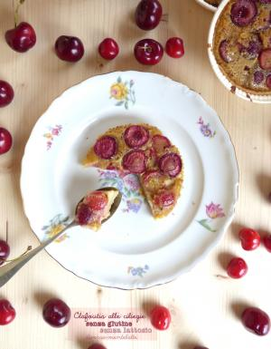 Clafoutis alle ciliegie senza glutine