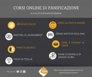 Corsi online di panificazione a cura di Antonella Scialdone