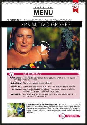 Primitivo Grapes - Li Veli