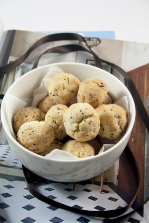 Biscotti di riso ai semi di chia