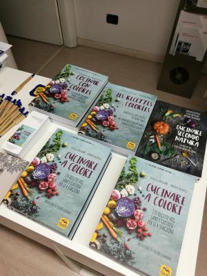 Cucina Mancina alla presentazione del nuovo libro di Cucinare secondo natura