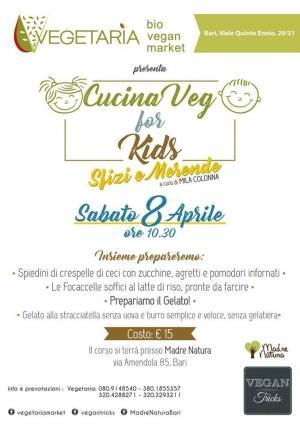 Cucina Veg for Kids: Sfizi & Merende