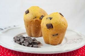 Muffin gluten-free con cioccolato