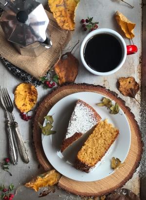 torta integrale zucca e cocco