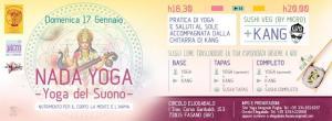 Yoga, musica e veg sushi