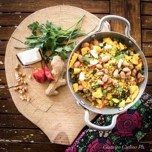 Friscous con verdure agrodolci tra Salento e Congo