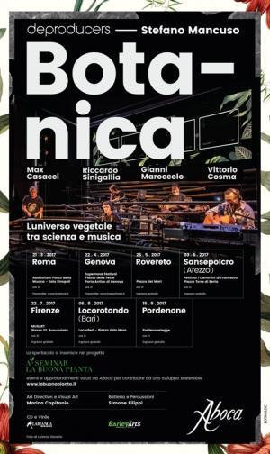 Botanica, l'universo vegetale tra scienza e musica