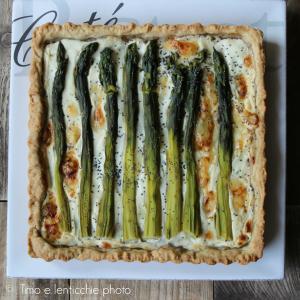 Brise' salata agli asparagi #zerospreco