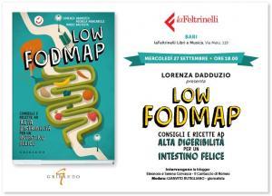 cucinaMancina e il suo libro Low FODMAP a LaFeltrinelli