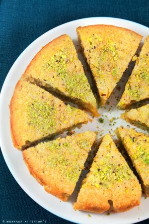 Torta al pistacchio gluten free