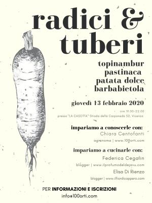 corso radici & tuberi a Vicenza