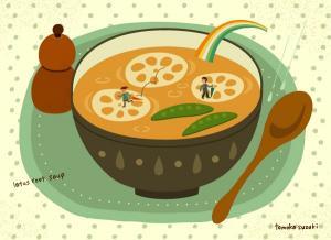 La zuppa e' uguale per tutti