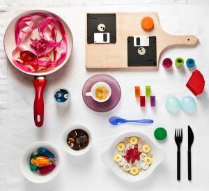 La cucina delle cose: un progetto mancino