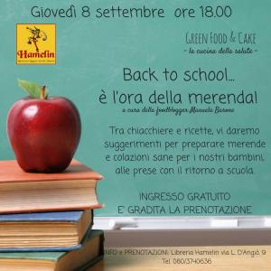 Back to school...E' l' ora della merenda!