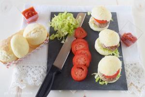 Mini panini all'olio semi dolci con lievito madre senza glutine senza lattosio senza proteine del latte senza saccarosio