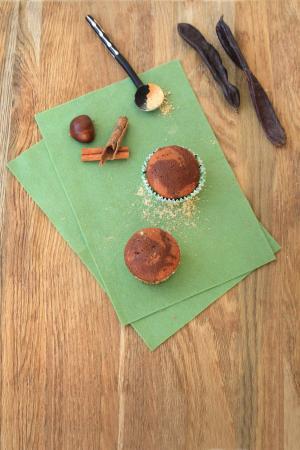 Muffin di carruba