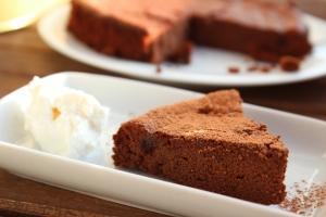 torta fondente al cacao