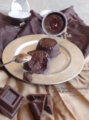 Tortini morbidi al cioccolato