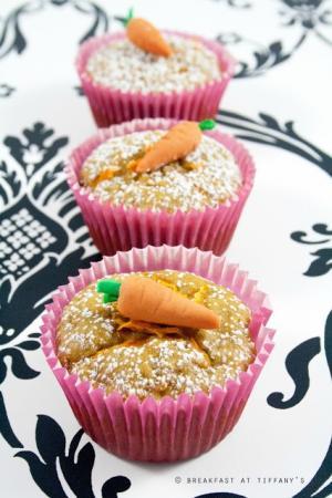 Muffin vegani alle carote