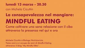 La consapevolezza nel mangiare: Mindful Eating