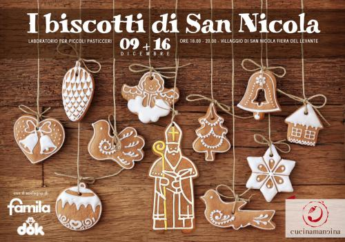I biscotti di San Nicola - laboratorio per piccoli pasticceri