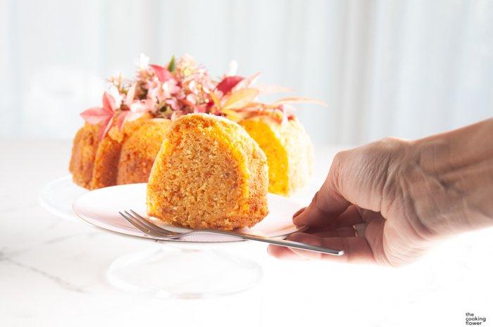 the cooking flower pumpkin ciambella 2