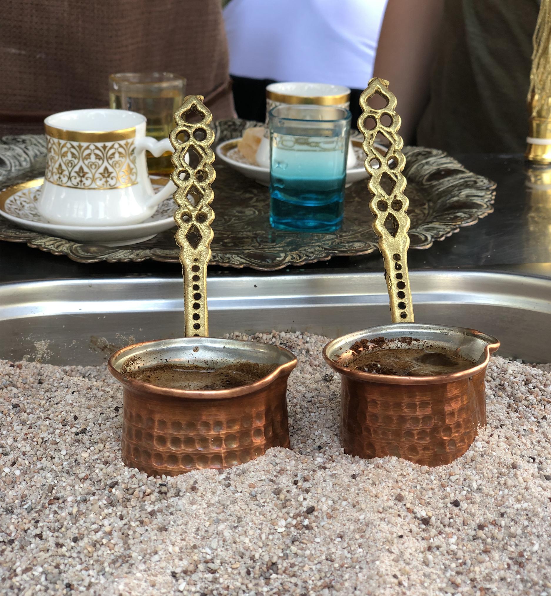 viaggiare insieme caffe turco