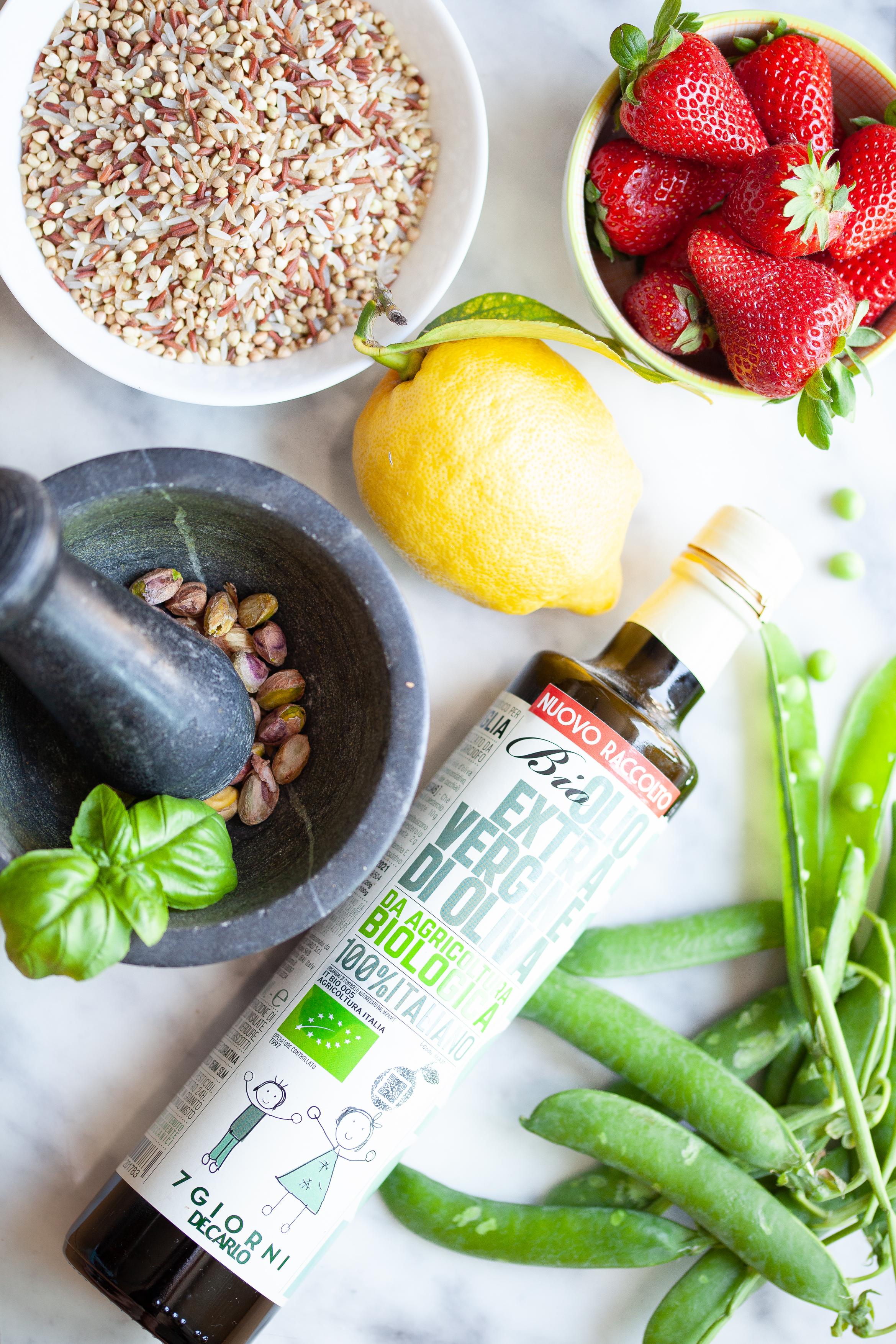 ingredienti insalata oliodecarlo Alessia Aloe