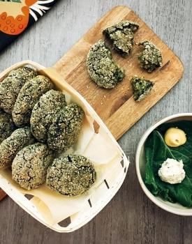 Polpette di bulgur e spinaci