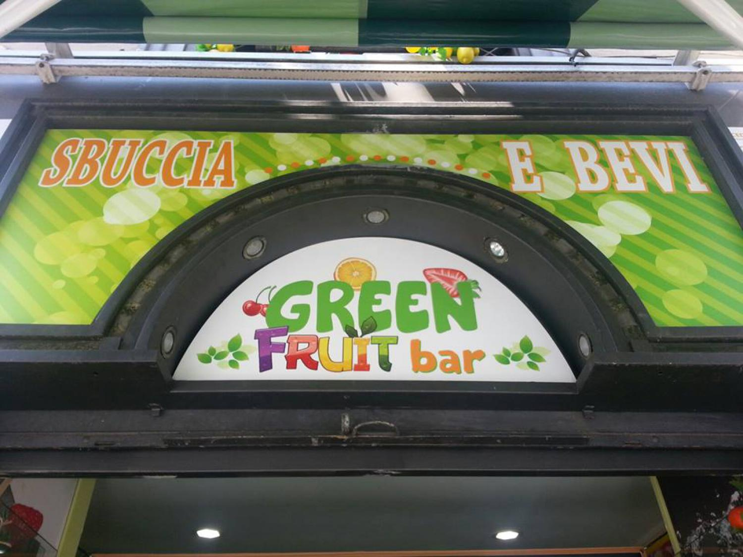 Sbuccia e Bevi Green Fruit Bar