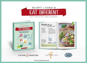 Eat Different: il primo libro dedicato ai mancini alimentari è in libreria